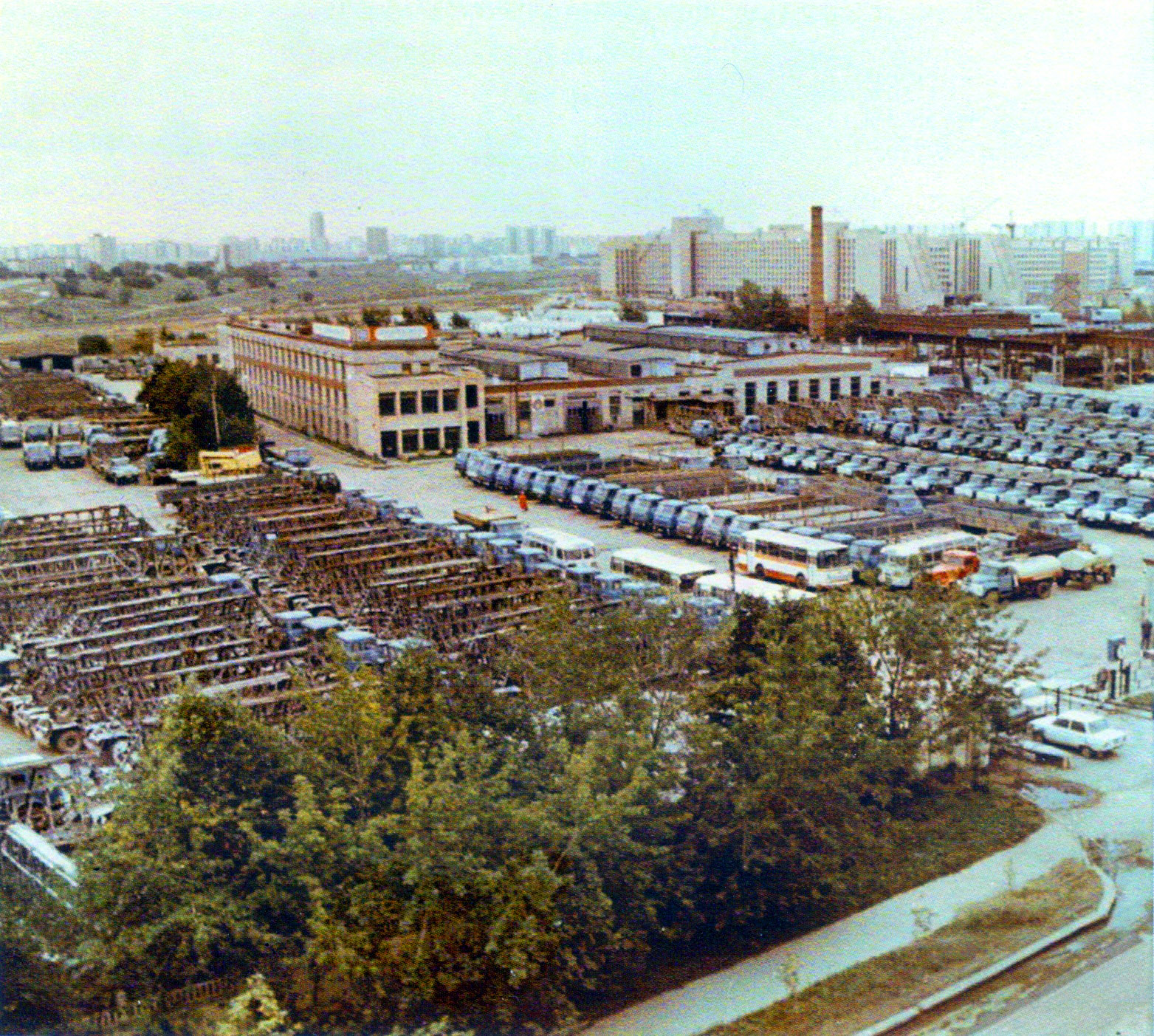 1980с Старая территория филиала № 15 Первого автокомбината