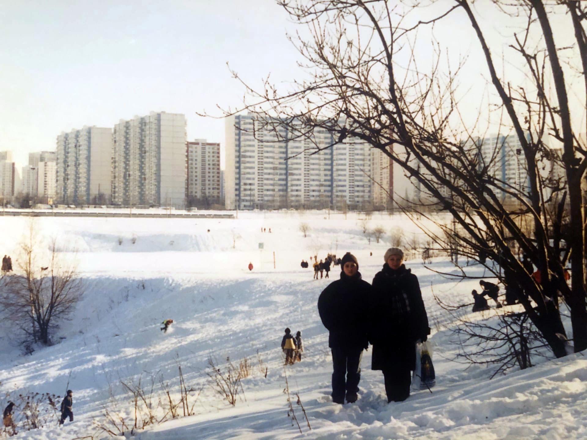 1996 Очаковский пруд и овраг, Ирина Данилина
