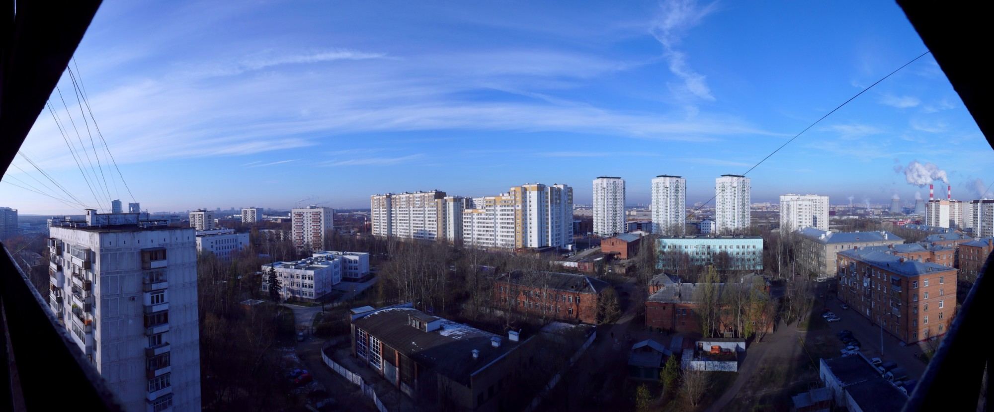 2009 панорама Очаково. Кирилл