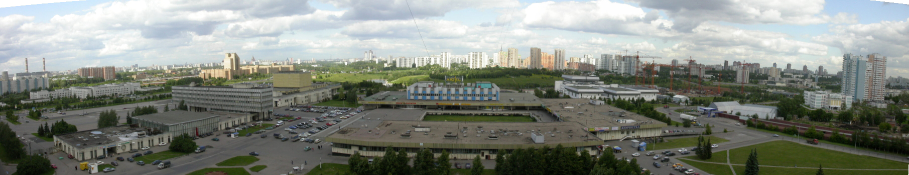 2003 панорама Олимпийки