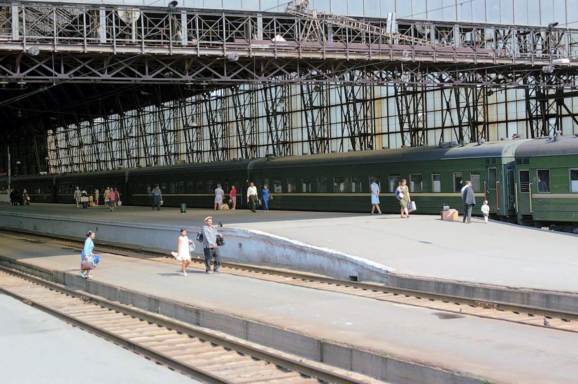 1973 Киевский вокзал. Перроны