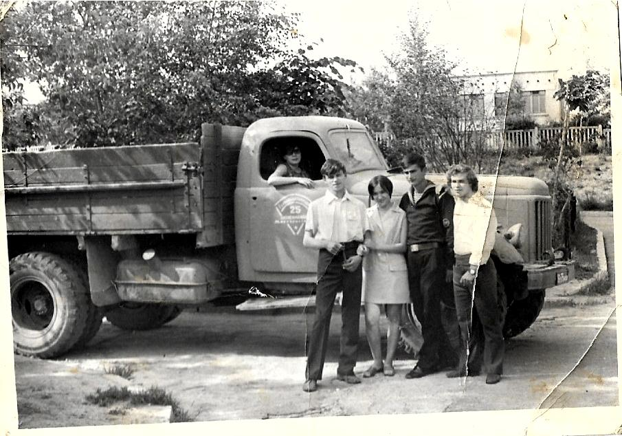 1971 Колыма. Детский садик напротив ОКЗ. Александ Кузьмик