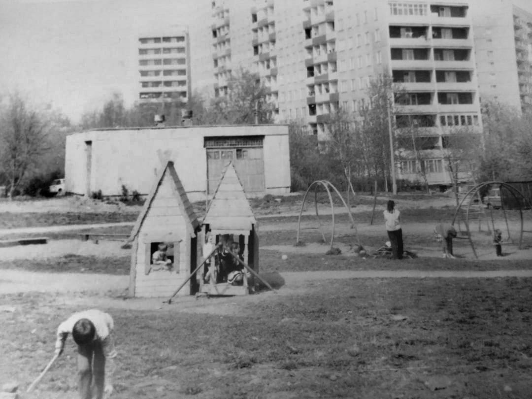 Веерная д. 40 к. 5 1988-89 г