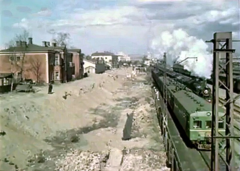 1957-58 Строительство новой Арбатско-Филевской линии метро