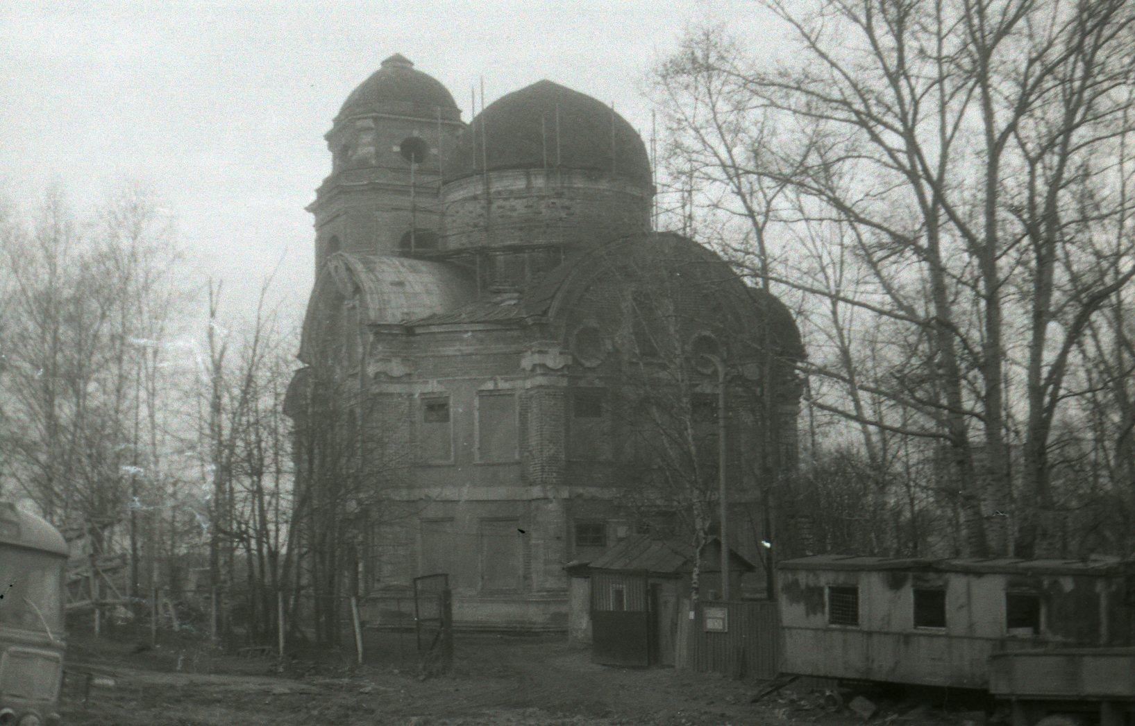 1987-88 Никольский храм в Троекурове. Kaisersouze