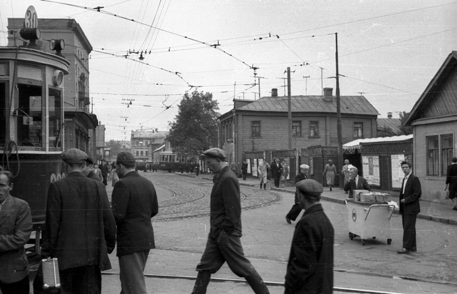 1958 Второй Брянский переулок fortepan