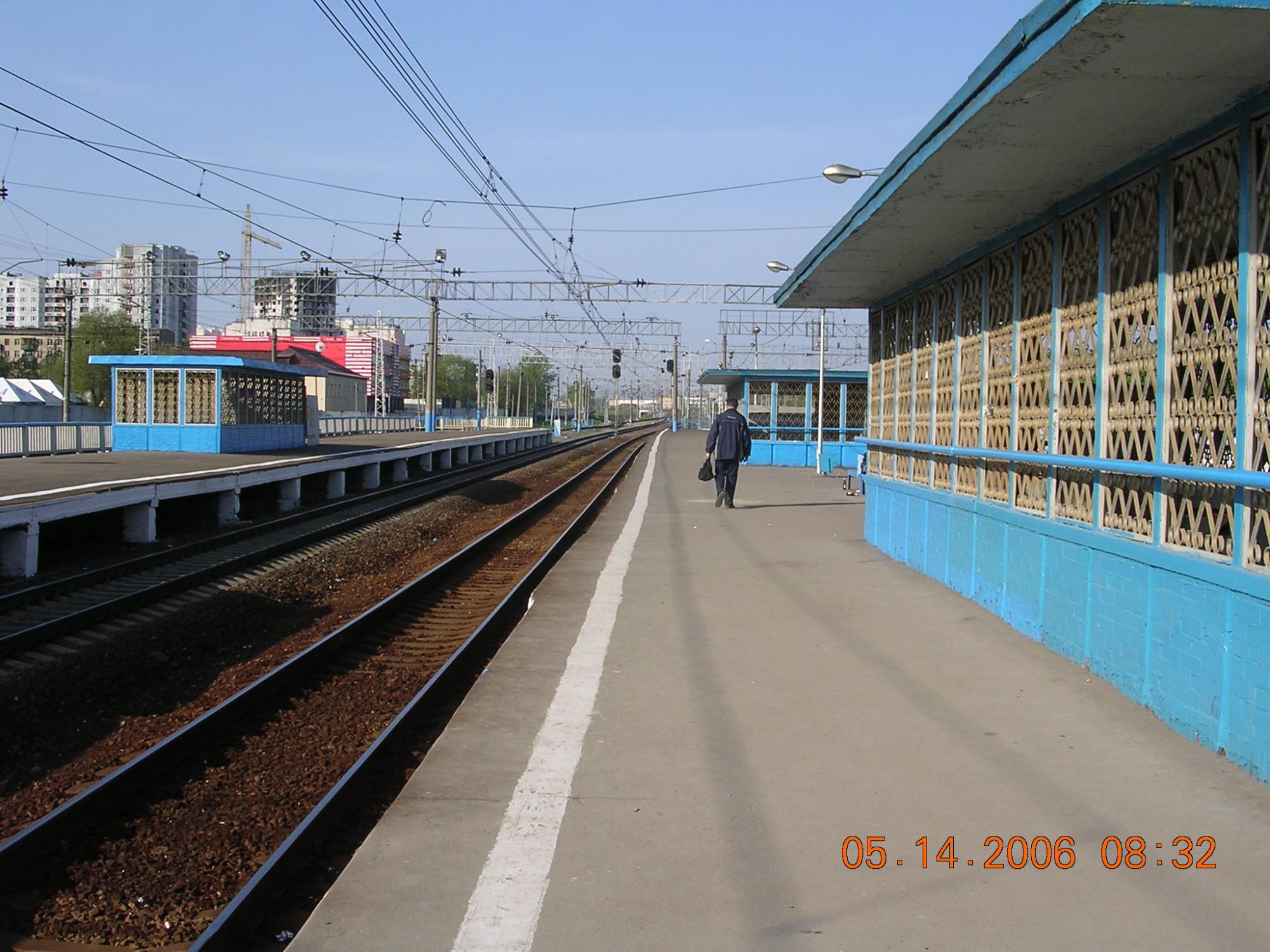2006 станция Очаково