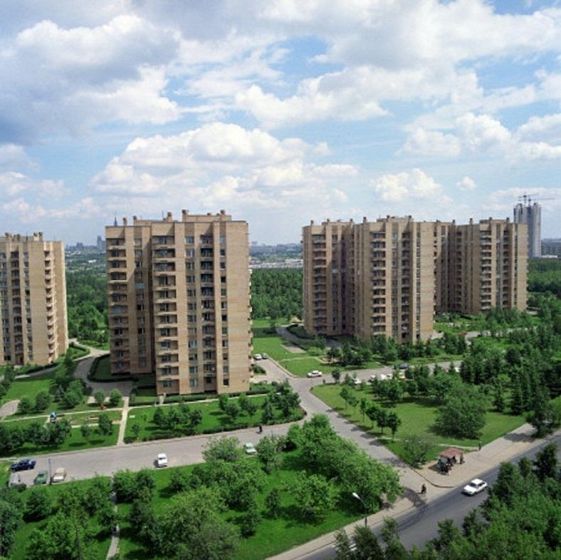 1990 Улица Удальцова. Борис Кавашкин2