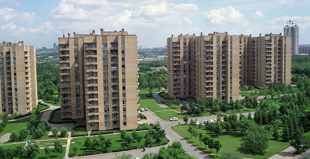 1990 Улица Удальцова. Борис Кавашкин