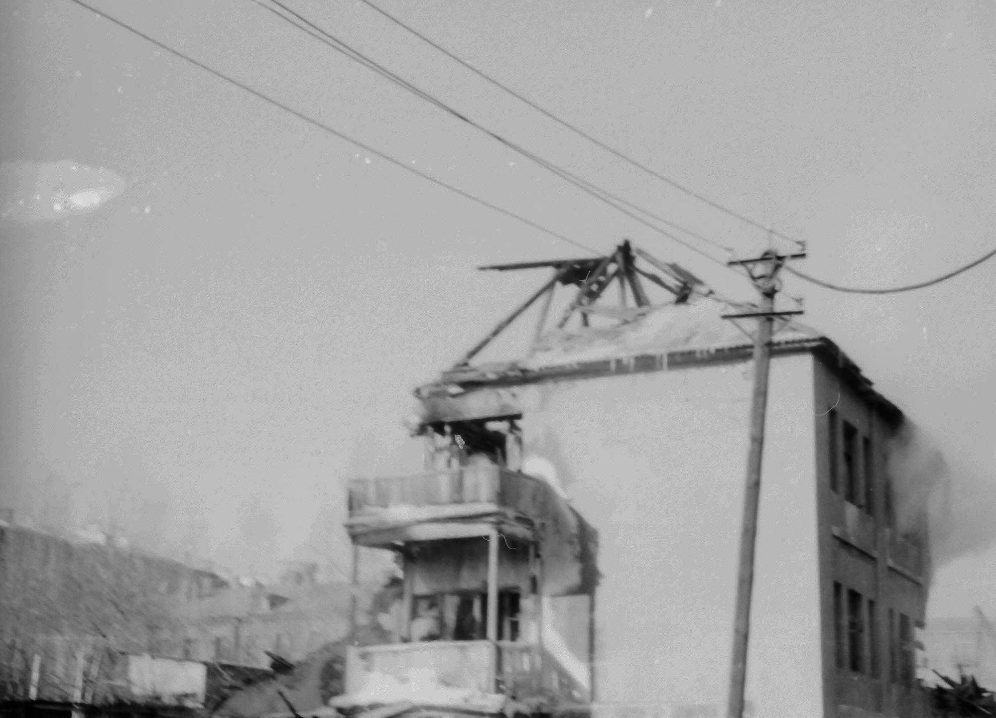 1971-72 Снос дома на углу Озерной и Марии Поливановой