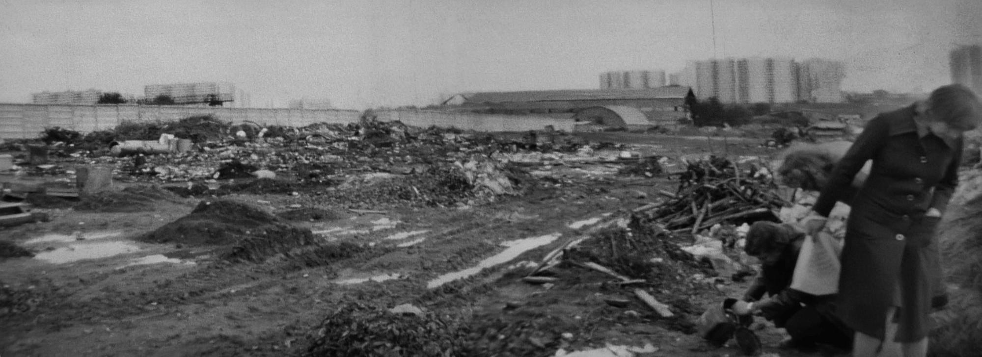 1984-85 Свалка на месте будущего микрорайона Никулино. Петр Рудов
