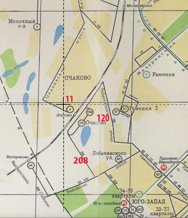 1969 схемы маршрутов городского транспорта Москвы