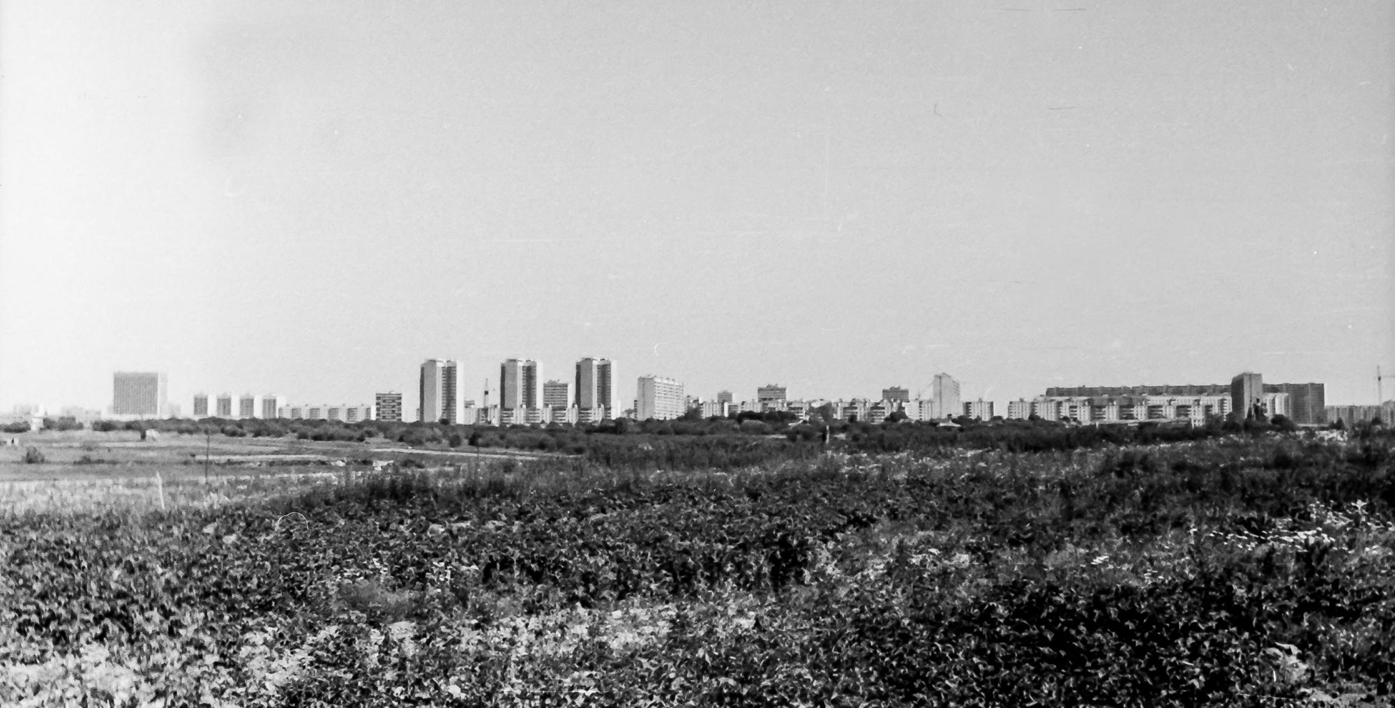 Вид на Юго-Западную, середина 70-х