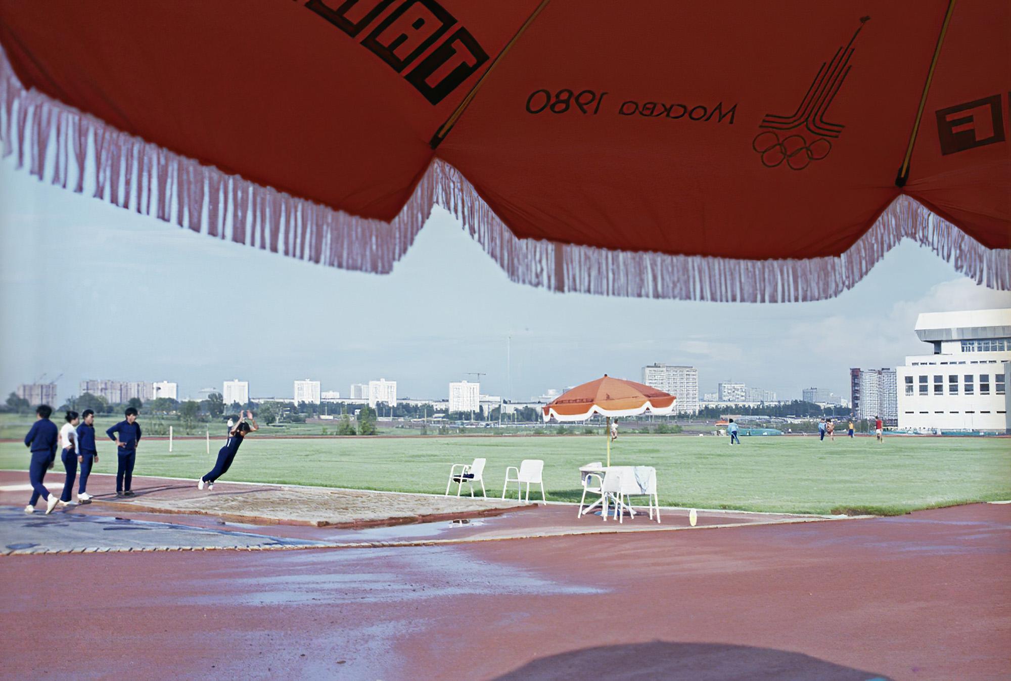 1980 Спортивная зона в Олимпийской деревне. Виталий Арутюнов_cmpk
