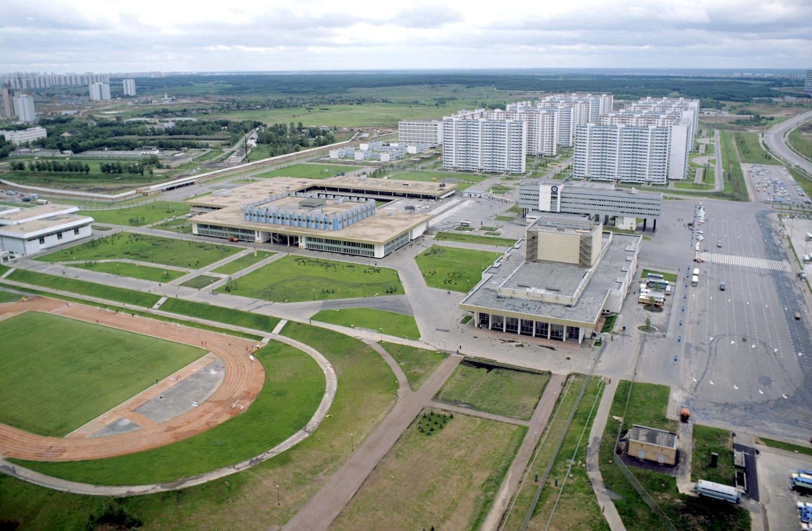 1980 Панорама Олимпийской деревни. Пахомов, РИА Новости3