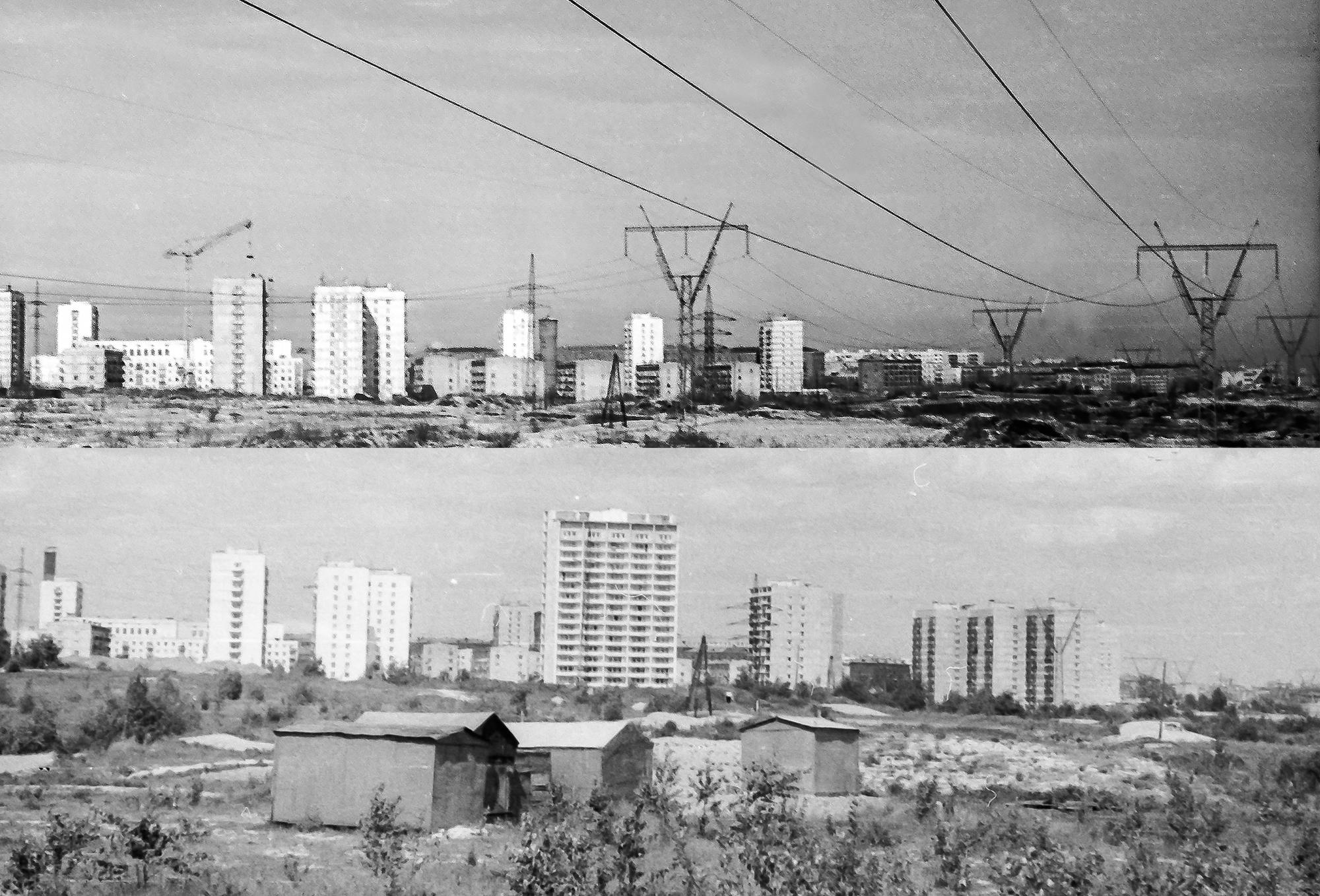 Фотографии ноября 1971 и 1974 (или 1975)