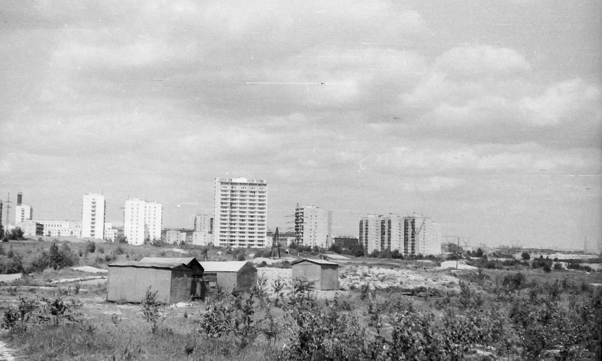 1974-75 вид на Очаково