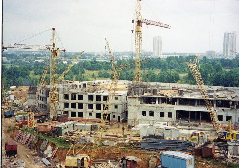 1997 Строительство Олимпийской деревни для первых Всемирных Юношеских игр3