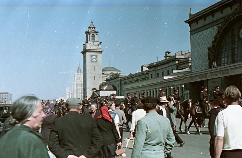 1960-62 Площадь Киевского вокзала