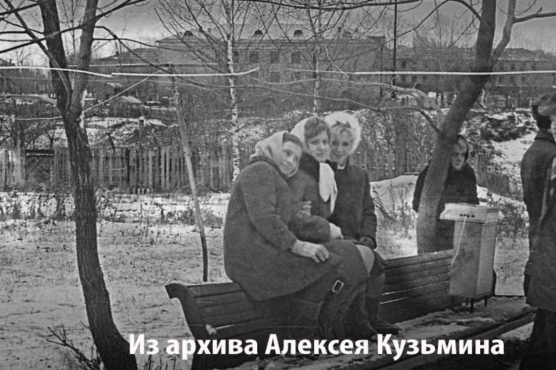 1972 Из архива Алексея Кузьмина, школа №48 в Раменках2