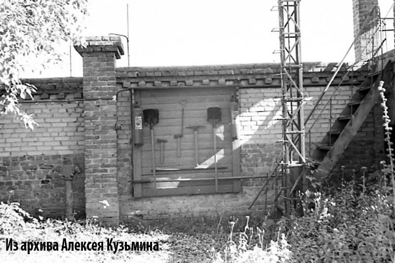 1960е стена газгольдерной станции1