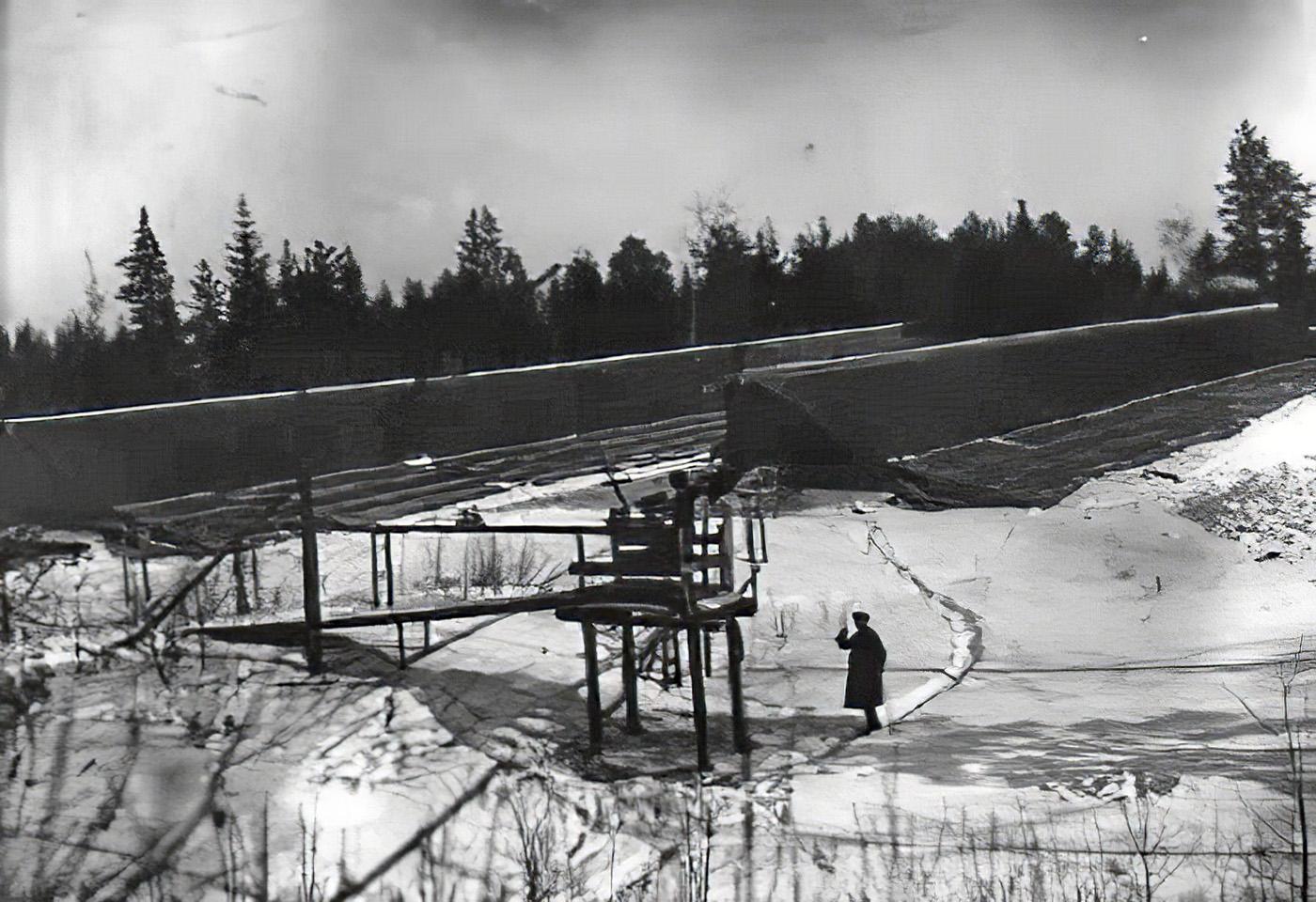 1932 Общий вид парников в совхозе Очаково_cmpk
