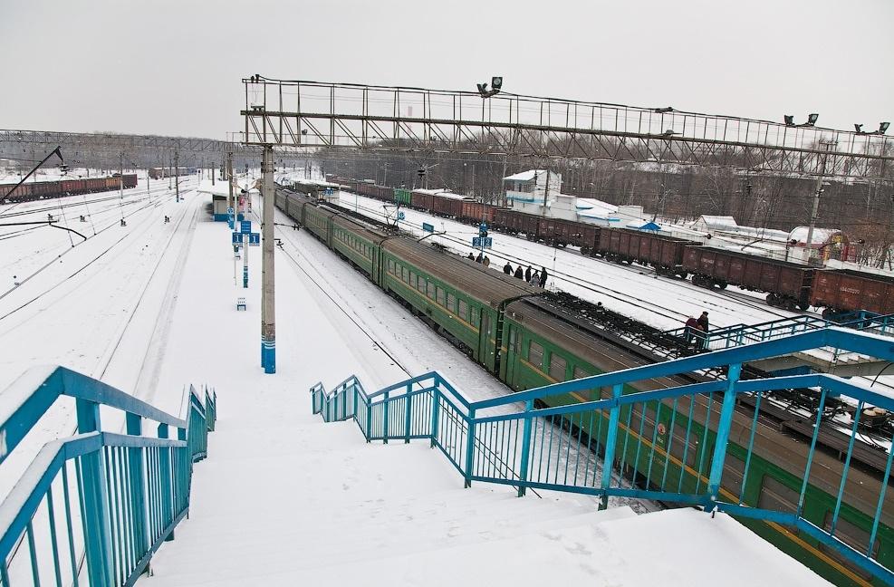 Станция «Солнечная». 2000-е гг. Фотография Александра Каменского