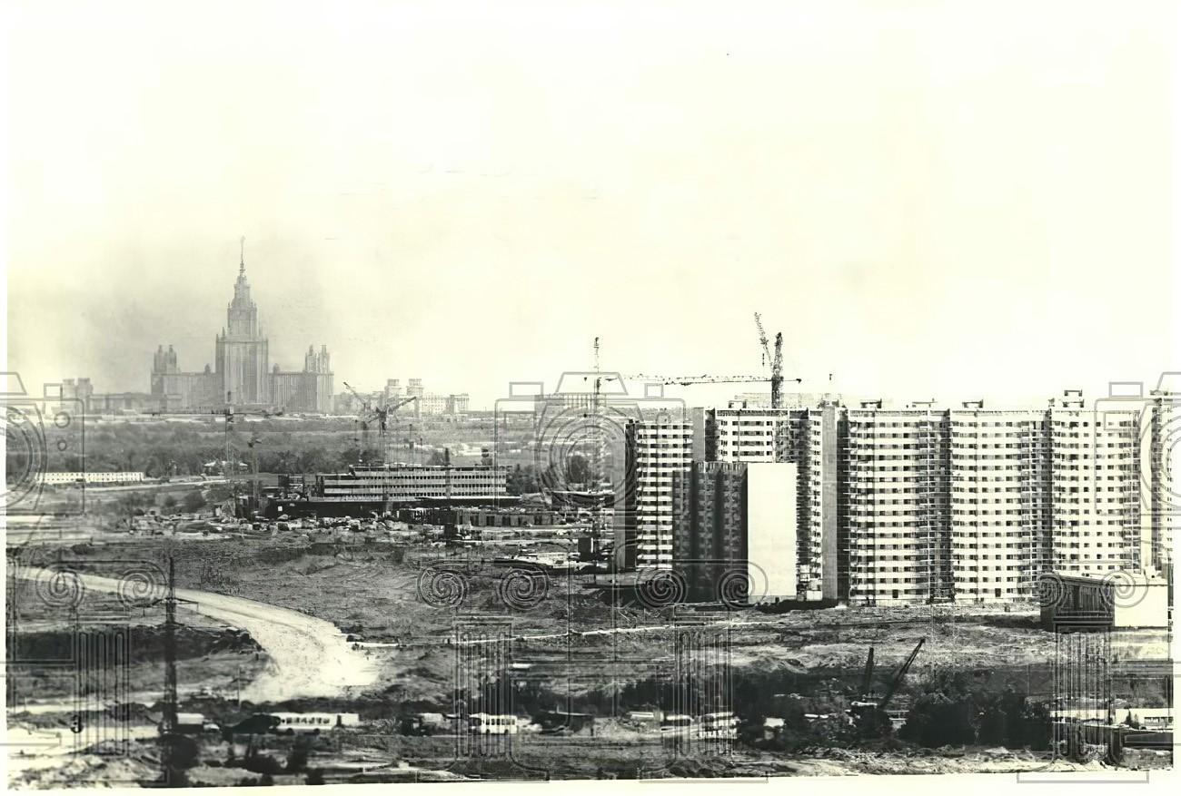 1978 будущий Мичуринский пр-т