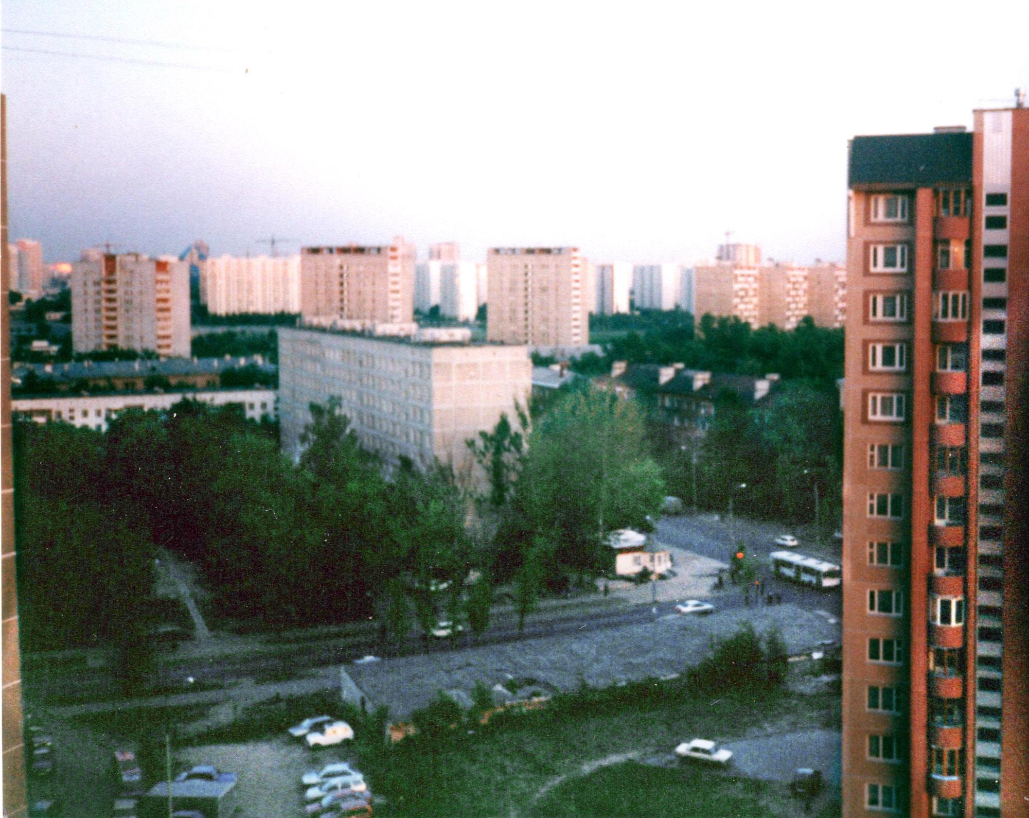 2003 Вид на перекрёсток. Мария Семенова1