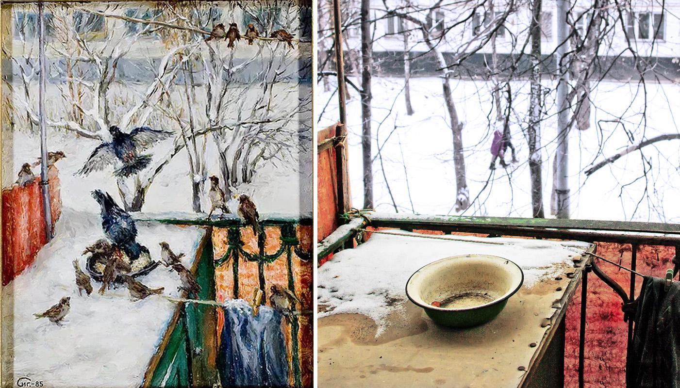 1985 Зимой на балконе3