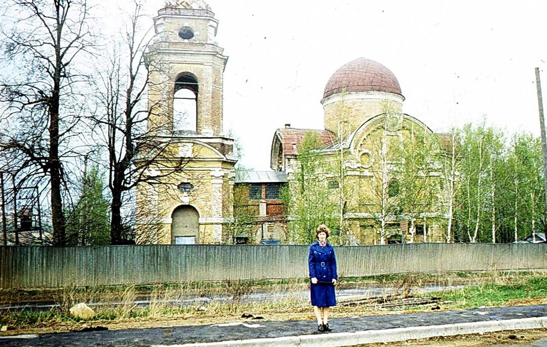 1979 Церковь Николая Чудотворца в Троекурове. Виктор Сараф2