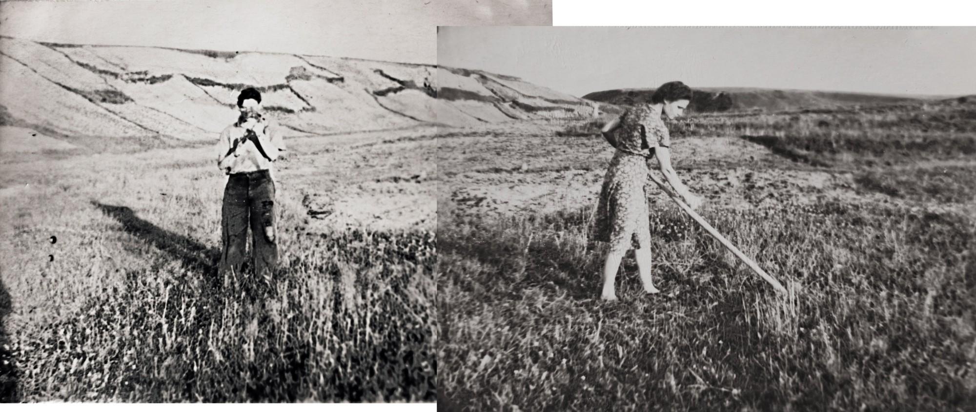 1949-54 На месте пруда (панорама)