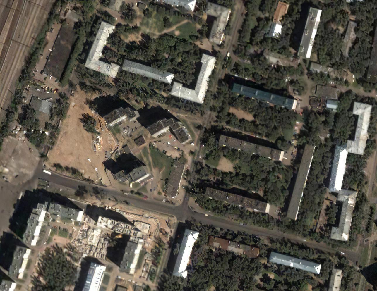2003 Очаково, спутниковый снимок2