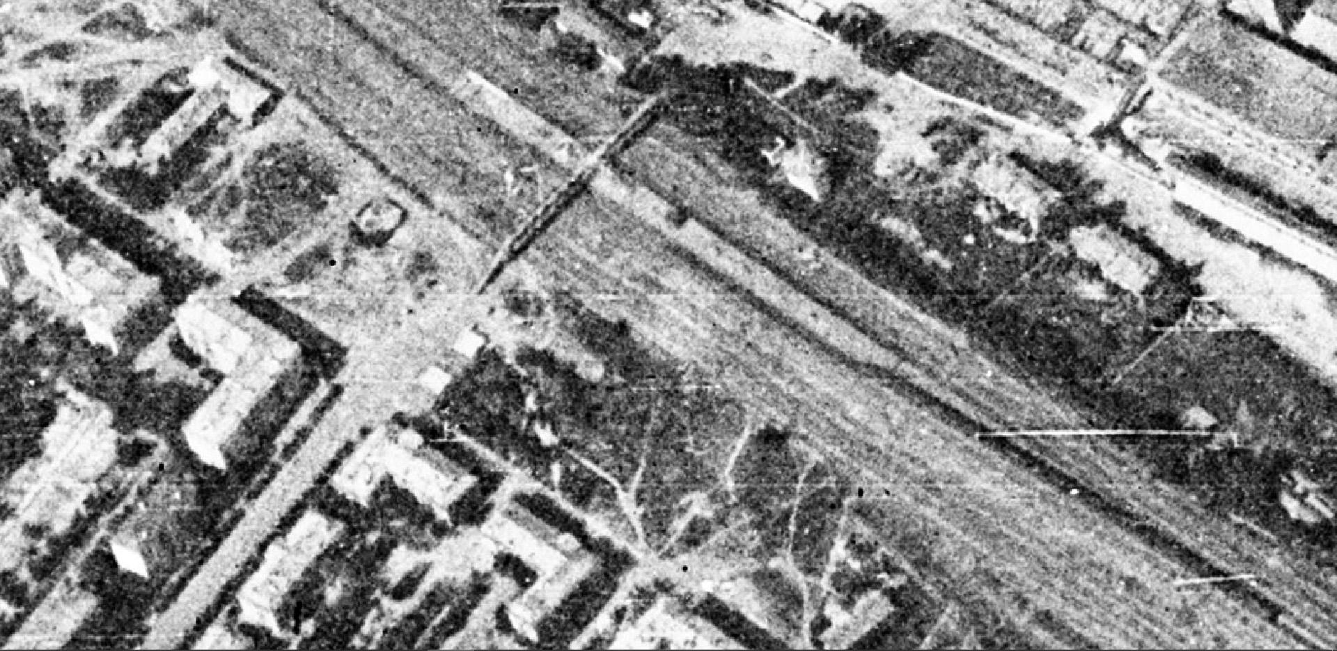 1966 станция Очаково со спутника