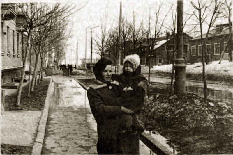 1968 (примерно) ул. Марии Поливановой. Из архива Нурадиновой Светланы2