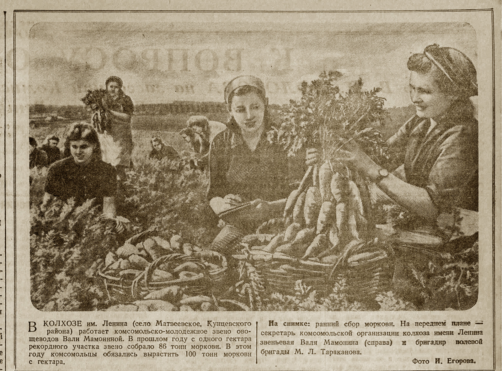 1946 Московский комсомолец, 1946, № 104 (643), 27 августа2