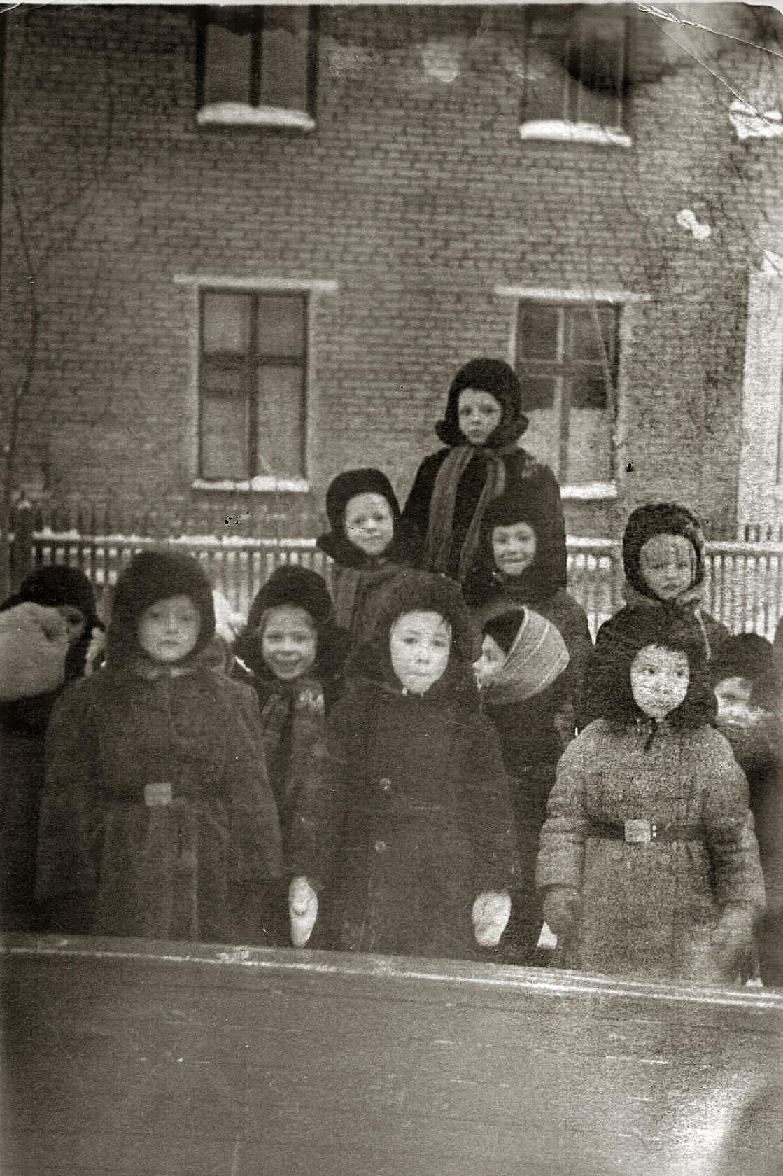 1959-60 Детский сад на ул. Ленина (Б.Очаковская). В.Разуваев2