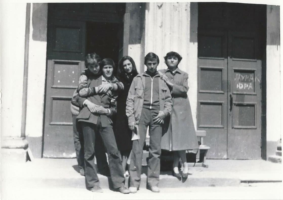 1982 Школа 844. Светлана Кириллова