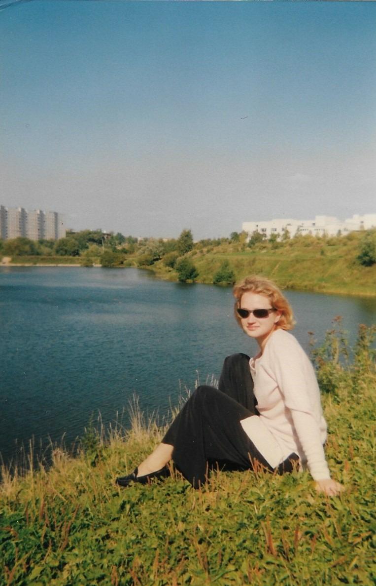 1999 сентябрь на пруду. Валентина Платонова