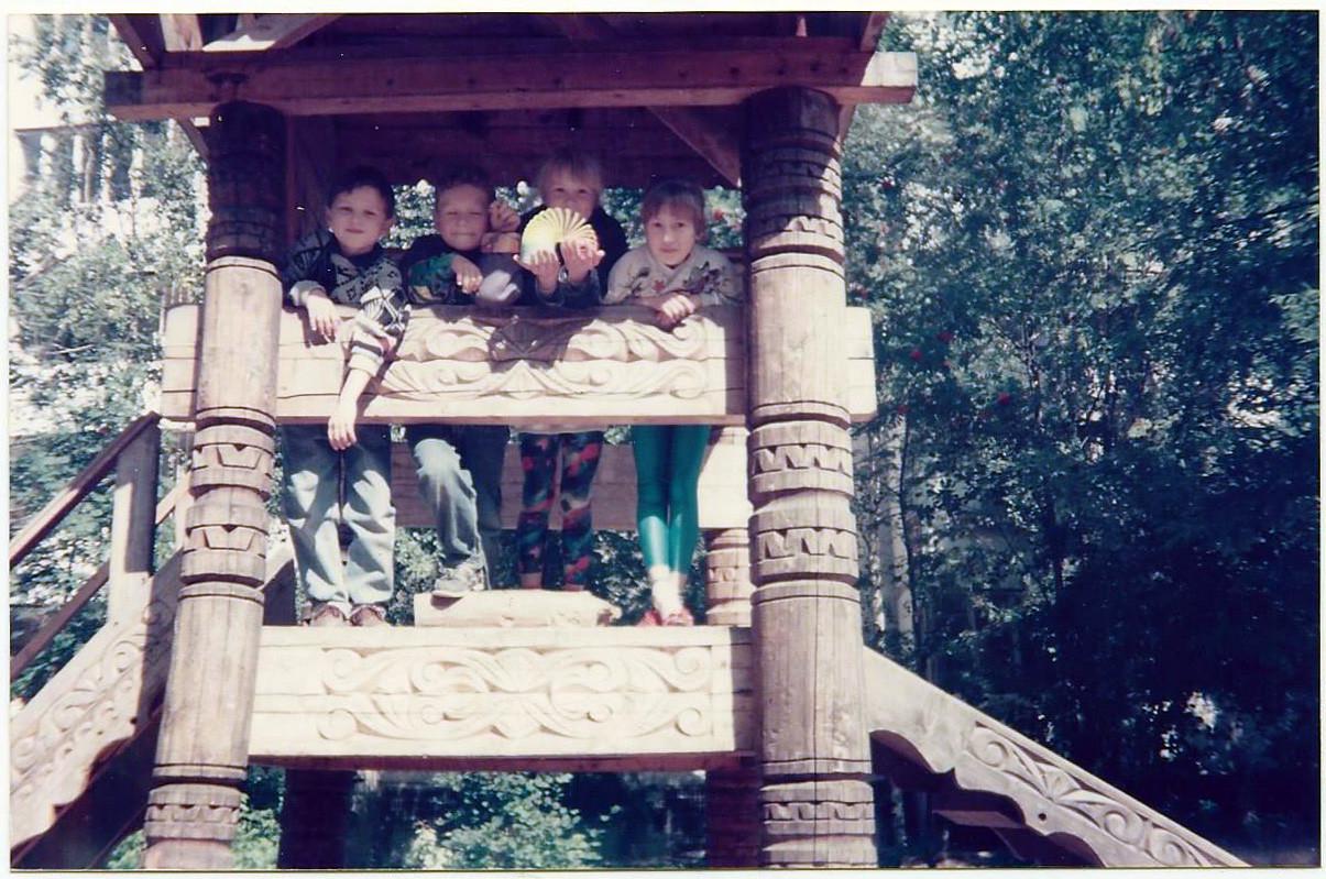 1994 двор по ул. Б. очаковская, 21. Светлана Кирилова5
