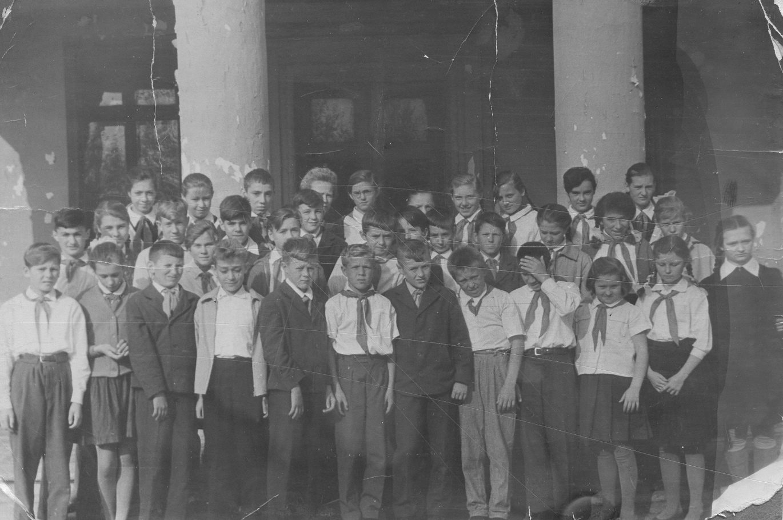 1964 год, 6-й Г класс, школа № 843 р-н Очаково, г. Москва
