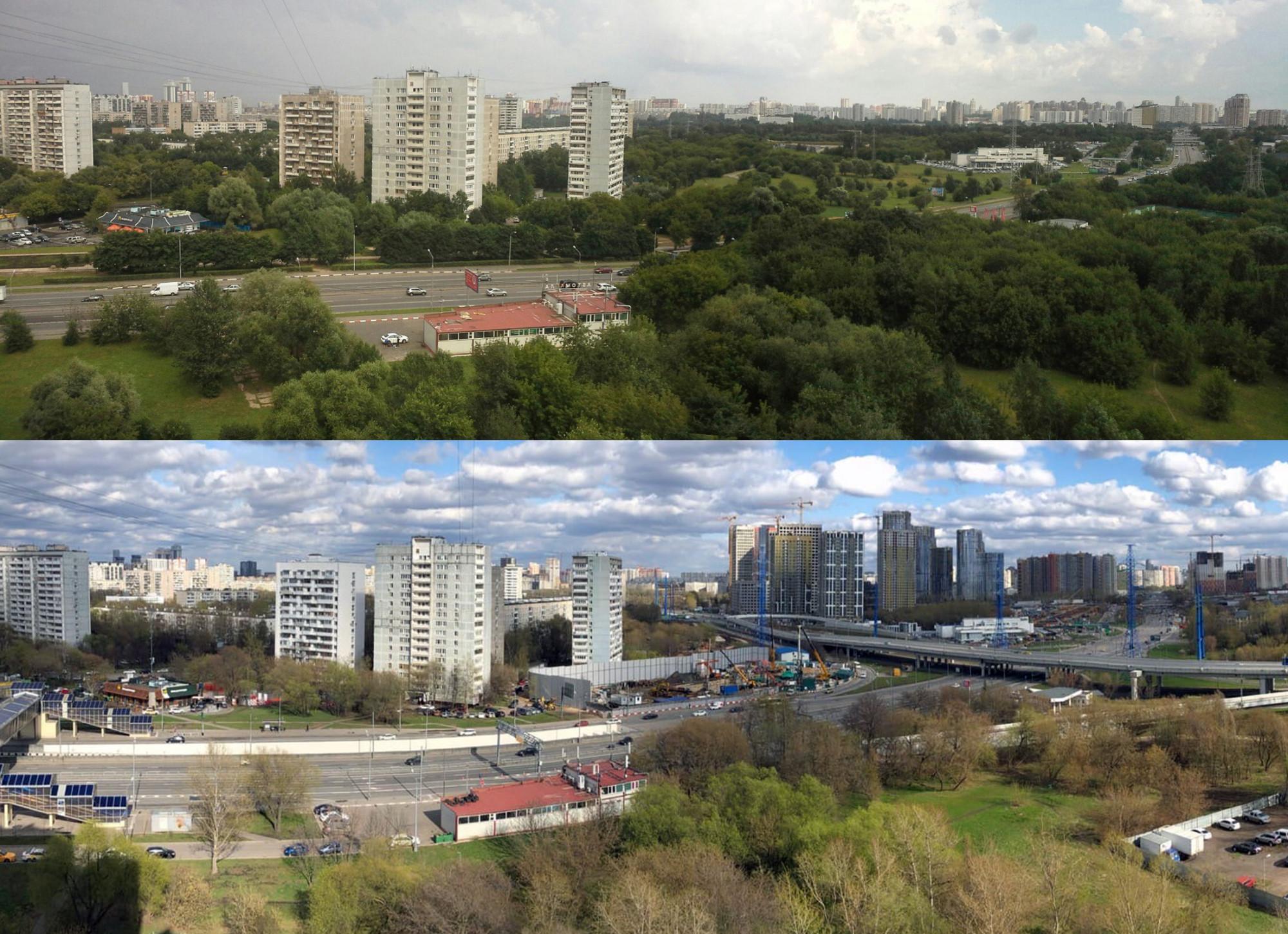 Аминьевское шоссе 10 лет спустя (2011-2021)