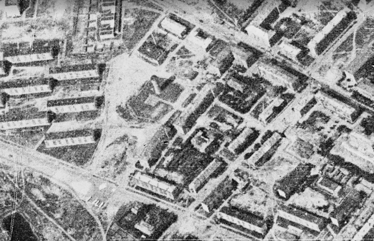 1966 Очаково со спутника