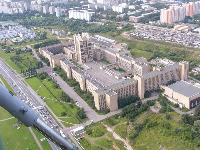Вид сверху на Академию ФСБ и Очаково_cmpk