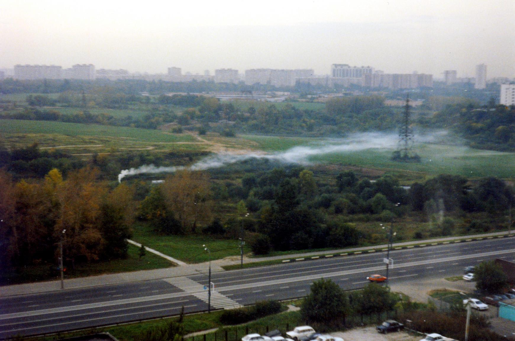 1999-2000 Дымка над долиной реки Раменка. Владимир Великов