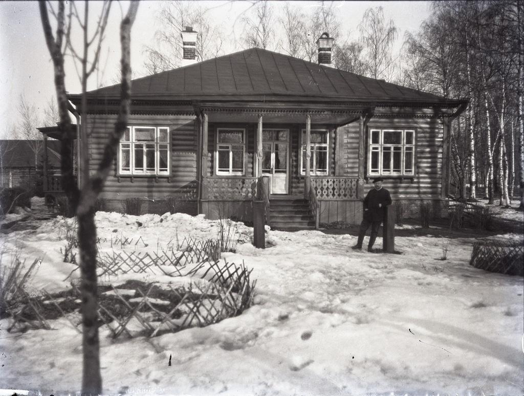 1898 Александр Живаго в имении Д. Р. Вострякова «Михайловка»