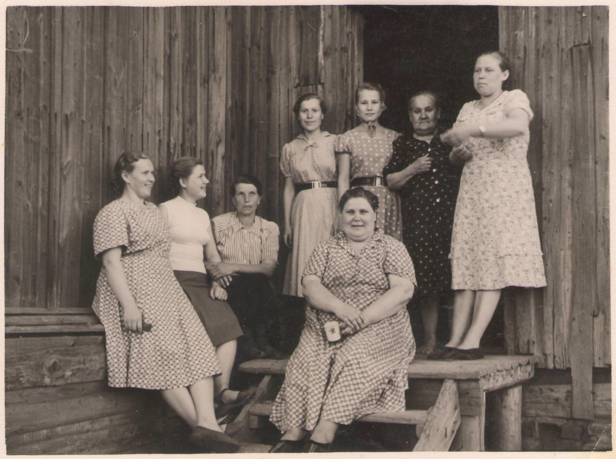 1950е какой-то из Очаковских бараков