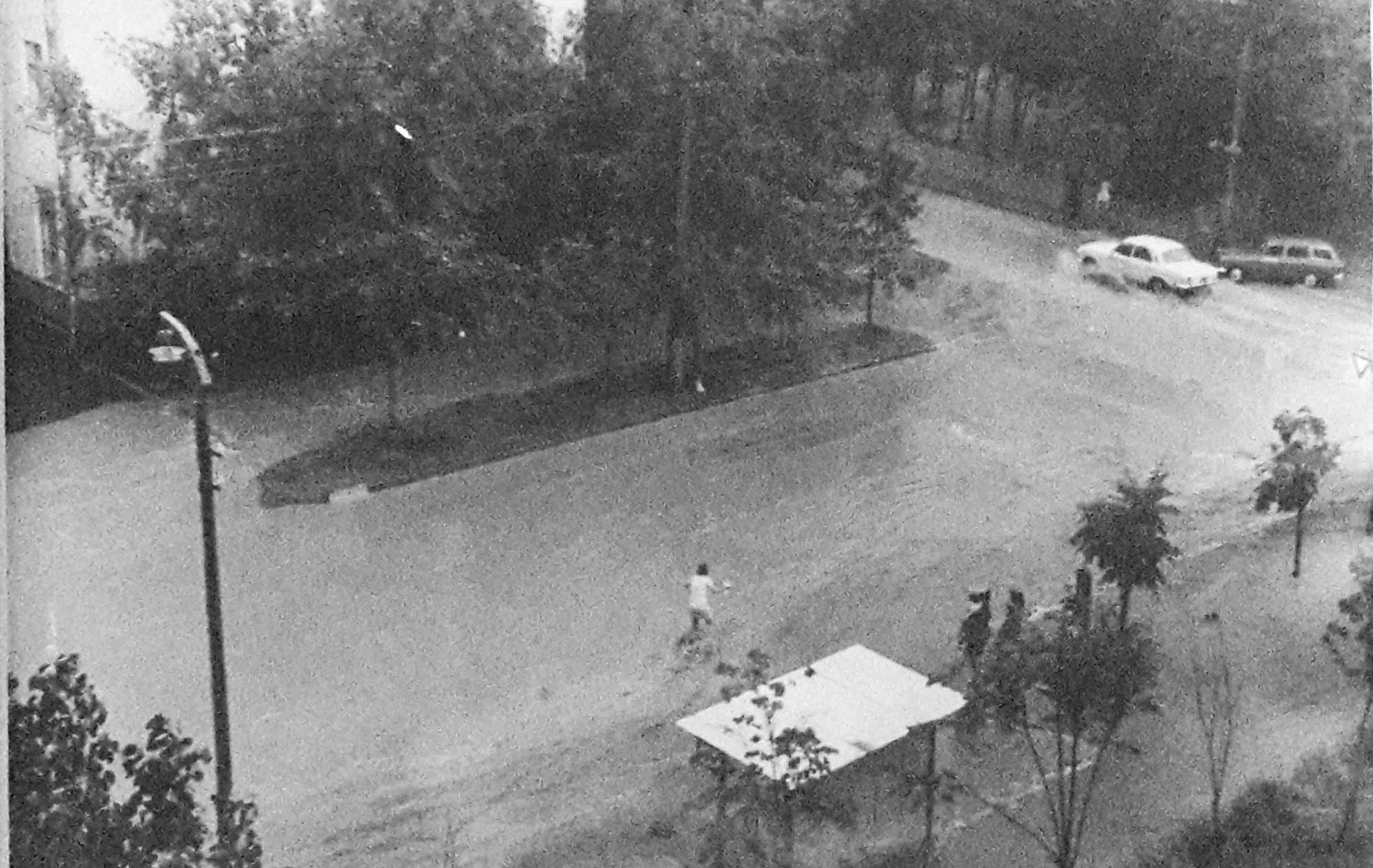 1970е вид из окна дома 21 ул. Б. Очаковская. Анна2