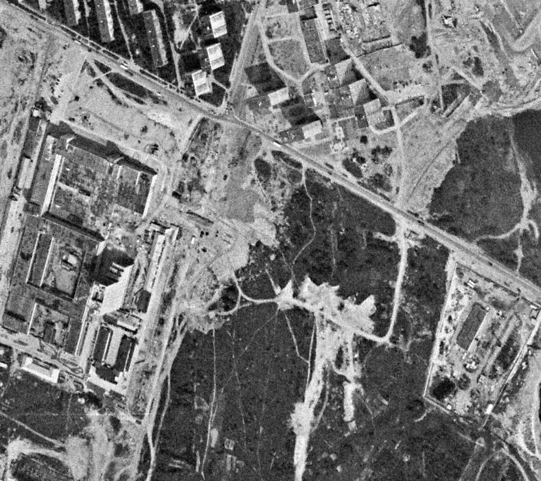 1977 Район Озерной площади, вид от 22 июля 1977 г.2
