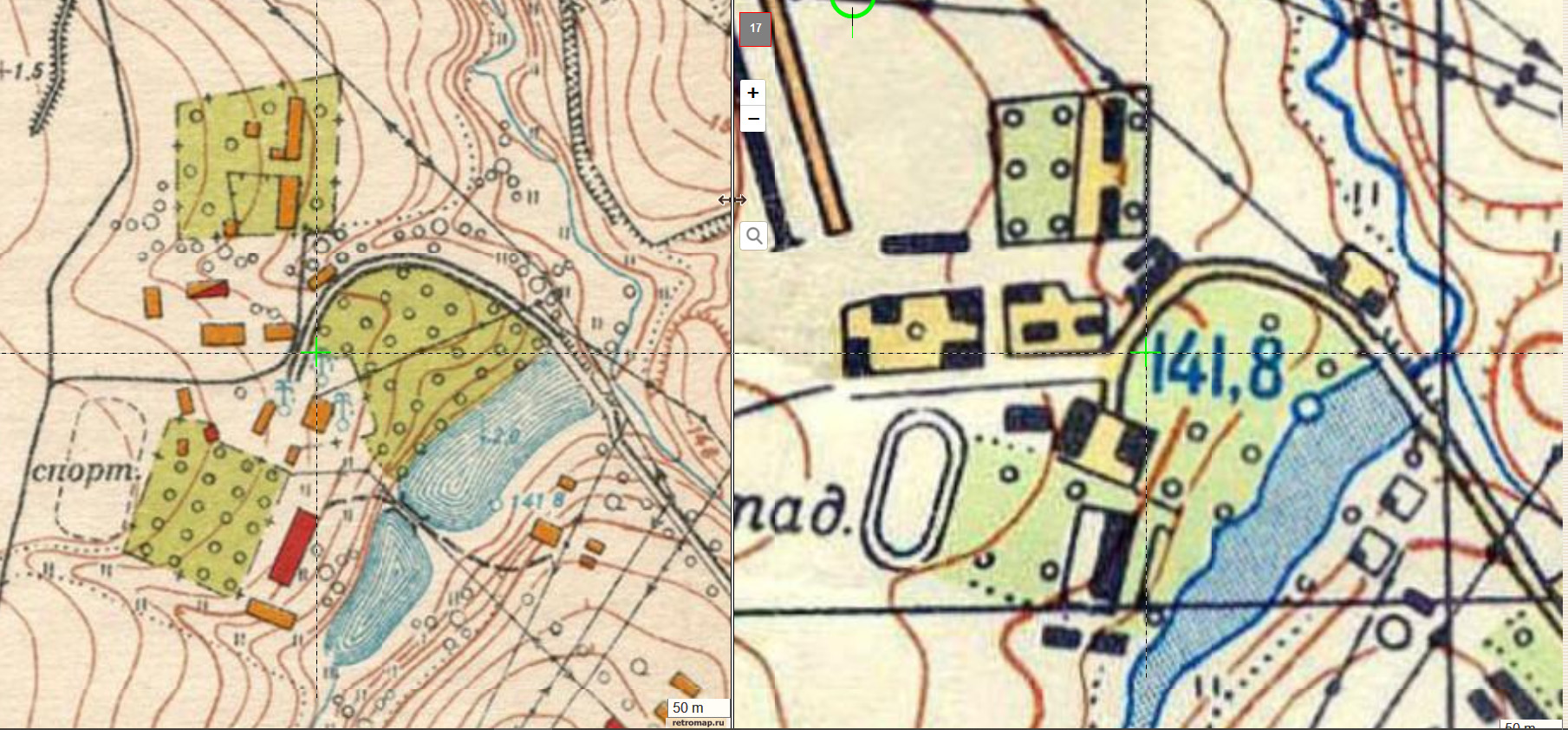 1951-1963 бывшие дачи